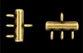 Strand Connector 10/12mm : Antique Brass