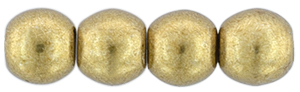 Round Beads 3mm (loose)  : ColorTrends: Saturated Metallic Ceylon Yellow