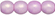 Round Beads 3mm (loose) : Neon Lavender