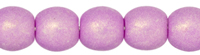 Round Beads 3mm (loose) : Neon Orchid