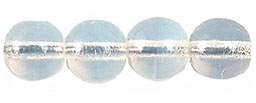 Round Beads 6mm (loose) : Milky White