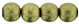 Round Beads 6mm (loose) : ColorTrends: Saturated Metallic Golden Lime