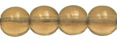 Round Beads 6mm (loose) : Lt Colorado Topaz