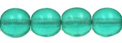 Round Beads 6mm (loose) : Teal