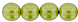 Round Beads 6mm (loose) : Transparent Pearl - Wild Olive
