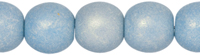Round Beads 6mm (loose) : Neon Ice Blue