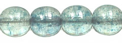 Round Beads 6mm (loose) : Luster - Blue