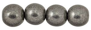 Round Beads 8mm (loose) : ColorTrends: Saturated Metallic Frost Gray