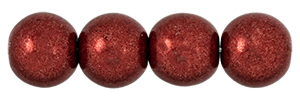 Round Beads 8mm (loose) : ColorTrends: Saturated Metallic Merlot