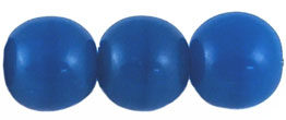 Round Beads 10mm (loose) : Opaque Blue