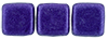 CzechMates Tile Bead 6mm (loose) : ColorTrends: Saturated Metallic Ultra Violet