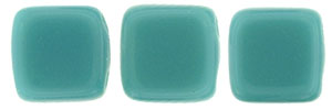 CzechMates Tile Bead 6mm (loose) : Persian Turquoise