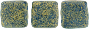 CzechMates Tile Bead 6mm (loose) : Pacifica - Poppy Seed
