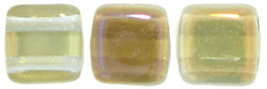 CzechMates Tile Bead 6mm (loose) : Twilight - Jonquil