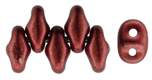 SuperDuo 5 x 2mm (loose) : ColorTrends: Saturated Metallic Merlot