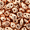 SuperDuo 2/5mm (loose) : Metallic Copper Penny