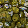 SuperDuo 2/5mm (loose) : Matte - Jonquil - Vitral