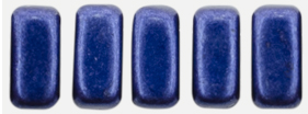 CzechMates Bricks 6 x 3mm (loose) : ColorTrends: Saturated Metallic Evening Blue