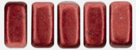 CzechMates Bricks 6 x 3mm (loose) : ColorTrends: Saturated Metallic Merlot