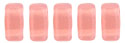 CzechMates Bricks 3/6mm (loose) : Milky Pink