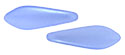 CzechMates Two Hole Daggers 5/16mm (loose) : Pearl Coat - Baby Blue