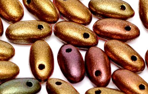 Rizo 2,5x6mm (loose) : Bronze Rainbow B