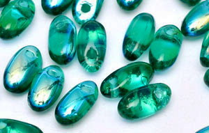 Rizo 2,5x6mm (loose) : Emerald AB