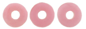O-Ring 1x3.8mm (loose) : Matte - Coral Pink