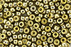 Matubo Seed Bead 6/0 (loose) : Polished Brass