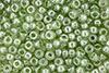 Matubo Seed Bead 6/0 (loose) : Luster - Transparent Lt Green