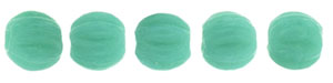 Melon Round 3mm (loose) : Opaque Turquoise