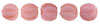 Melon Round 3mm (loose) : Coral Pink