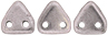 CzechMates Triangle 6mm (loose) : ColorTrends: Saturated Metallic Almost Mauve
