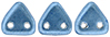 CzechMates Triangle 6mm (loose) : ColorTrends: Saturated Metallic Little Boy Blue