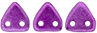 CzechMates Triangle 6mm (loose) : ColorTrends: Saturated Metallic Spring Crocus