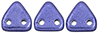 CzechMates Triangle 6mm (loose)  : ColorTrends: Saturated Metallic Ultra Violet