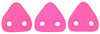CzechMates Triangle 6mm (loose) : Neon - Pink