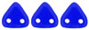 CzechMates Triangle 6mm (loose) : Cobalt