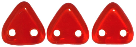 CzechMates Triangle 6mm (loose) : Siam Ruby