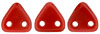 CzechMates Triangle 6mm (loose) : Opaque Red
