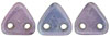CzechMates Triangle 6mm (loose) : Luster - Metallic Amethyst