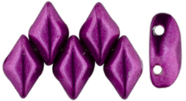 GEMDUO 8x5mm (loose) : ColorTrends: Sueded Gold Fuchsia Red