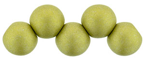 Top Hole Round 6mm (loose) : Color Trends: Satin Metallic Chartruese