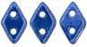 CzechMates Diamond Bead 4x6.5mm (loose) : ColorTrends: Saturated Metallic Navy Peony