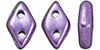 CzechMates Diamond 4x6.5mm (loose)  : ColorTrends: Saturated Metallic Crocus Petal