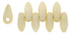 Mini Dagger Beads 2.5/6mm (loose) : Luster - Opaque Champagne