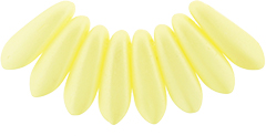 Dagger Beads 3/10mm (loose) : Powdery - Pastel Yellow