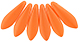 Dagger Beads 5/16mm (loose) : Powdery - Orange