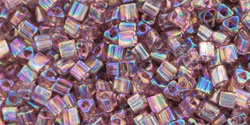 TOHO - Triangle 11/0 : Transparent-Rainbow Lt Amethyst