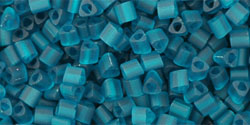 TOHO - Triangle 11/0 : Transparent-Frosted Teal